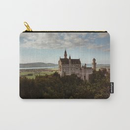 Neuschwanstein Castle in Germany Carry-All Pouch