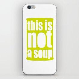 Warhol Magritte   iPhone Skin