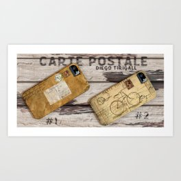 Carte Postale #2 Art Print