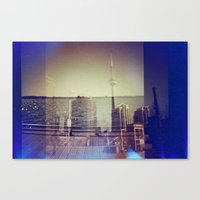 toronto Canvas Prints featuring Toronto by Jordan Osbourne