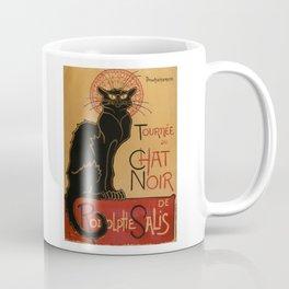 Le Chat Noir - Théophile Steinlen Coffee Mug