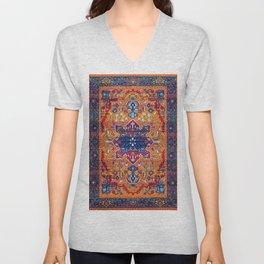 N86 - Vintage Boho Berber Moroccan Handmade Style Design. Unisex V-Neck