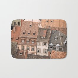 Traditional Tile Roofs Bath Mat