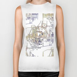 Mechanical Diagram Biker Tank