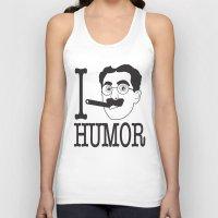 humor Tank Tops featuring I __ Humor by senioritis