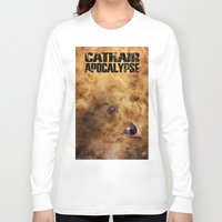 book cover Long Sleeve T-shirts featuring Cathair Apocalypse Book 1 Cover by Cathair Apocalypse