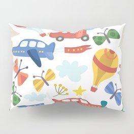 Kids Air Transportation Pillow Sham