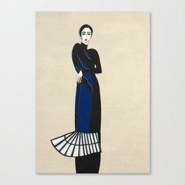 Henri Matisse inspired fashion #4 Canvas Print