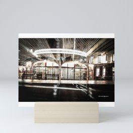Explozoom On A French Carousel Mini Art Print