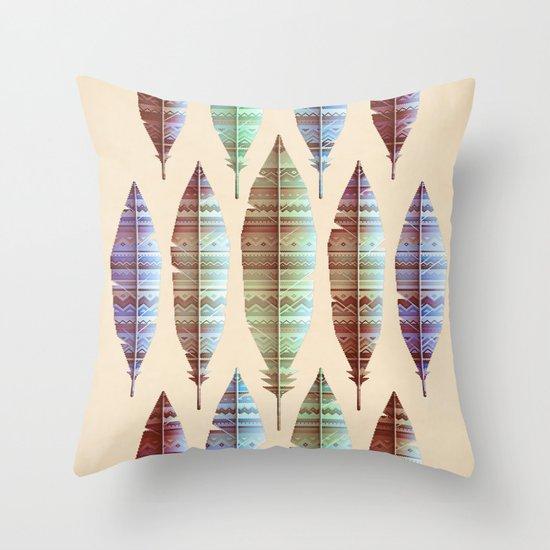 native bling (variant) Throw Pillow