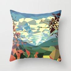 Landshape Throw Pillow