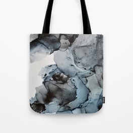Smoke Show - Alcohol Ink Painting Tote Bag