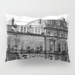 Edinburgh, Scotland Quaint City Homes Pillow Sham