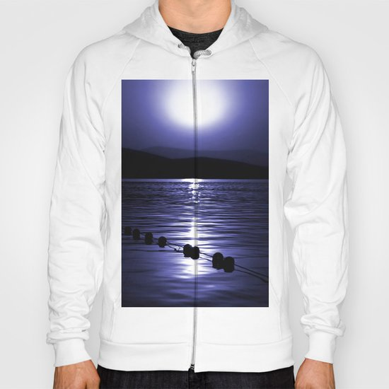 Turkish Sunrise in Blue Hoody