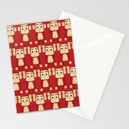 Super cute animals - Cheeky Red Monkey Stationery Cards