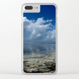 She is the artist Clear iPhone Case