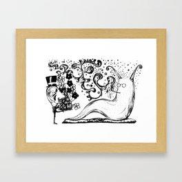 Rah! Framed Art Print