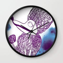 Frankenweenie Persephone Wall Clock