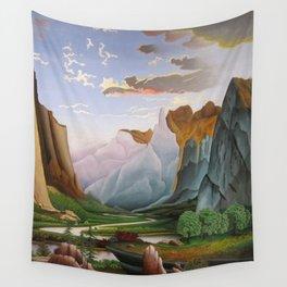 Yosemite Valley Wall Tapestry