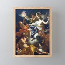Francesco Solimena Aurora Taking Leave of Tithonus Framed Mini Art Print