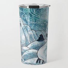 Winter in The Moomin Valley Travel Mug