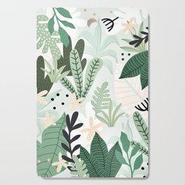 Into the jungle II Cutting Board