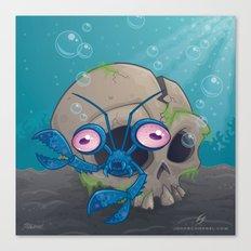 Eye Crustacea Canvas Print