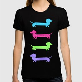 Chevron Dachshunds T-shirt