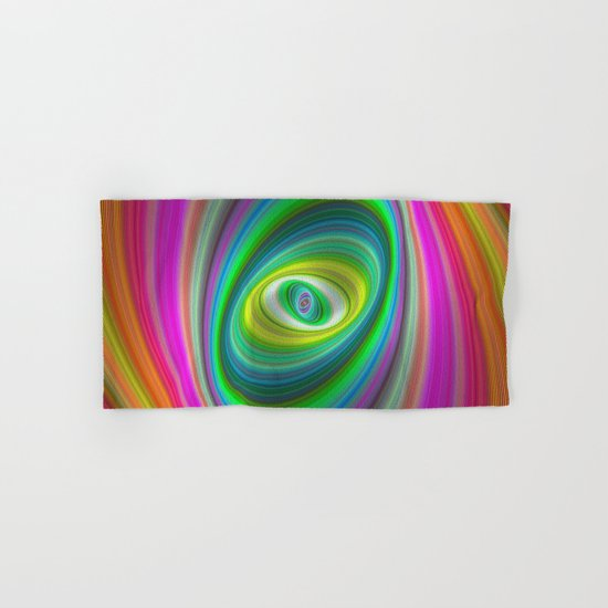 Elliptical magic Hand & Bath Towel