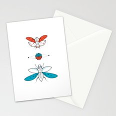 Two Insects II Stationery Cards