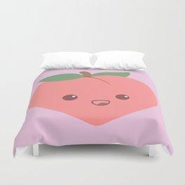 Cute Peach Duvet Cover
