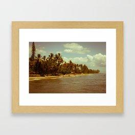 Vintage Maui 2 Framed Art Print