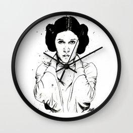 Carrie Fisher as Princess Leia Wall Clock