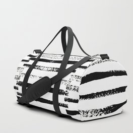 Sketchy Stripes Duffle Bag