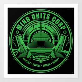 Mind Units Corp - Weapons of Mass Destruction Enlightened Version Art Print