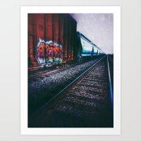 train art Art Print