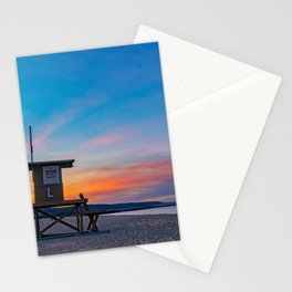 Newport Dawn at Tower L Stationery Cards