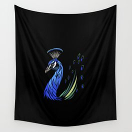 Peacock tribal Wall Tapestry