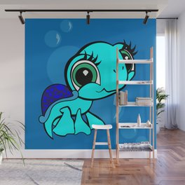 Under The Sea- Turtle Wall Mural