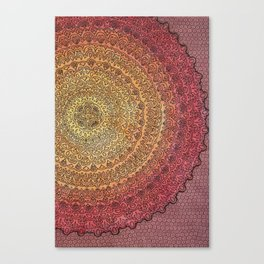 The Center of It All in Color Canvas Print