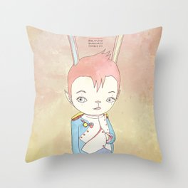 PAULPOLEON BONAPARTE PIERROT VIII Throw Pillow