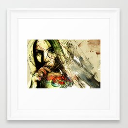 catch hell blues Framed Art Print