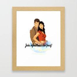 I Won't Say I'm in Love Framed Art Print