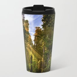 Redwood Forest Sunrise Travel Mug