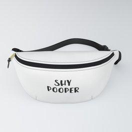 Shy Pooper Fanny Pack