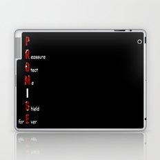 BWR No. 4 Promise (Black) Laptop & iPad Skin