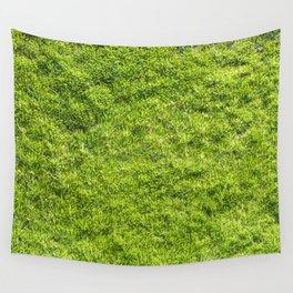 Field of fresh green grass Wall Tapestry