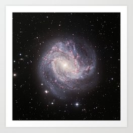 Spiral Galaxy Messier 83 Art Print