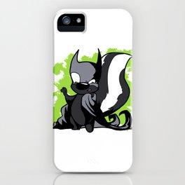 Batskunk 1 iPhone Case