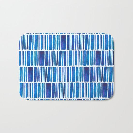 Blue Vibes Bath Mat